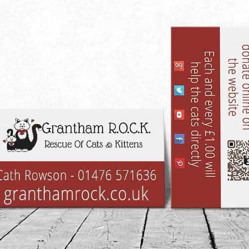 Web Design UK Charity Website Grantham ROCK